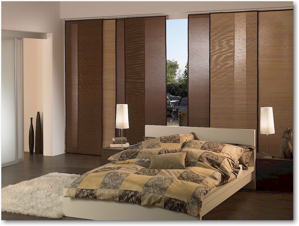 Sliding Panel Window Blinds New York City