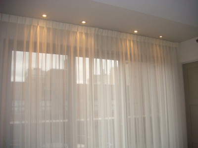 Motorized curtains and drapes The Shade Company 7
