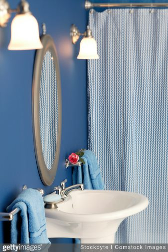 4 Rational Reasons to Use Drapery Instead of a Shower Curtain The Shade Company 2